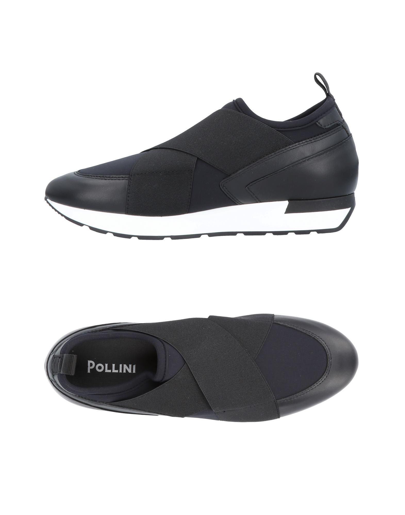 POLLINI Низкие кеды и кроссовки
