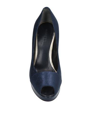 Фото 2 - Женские туфли DIBRERA BY PAOLO ZANOLI темно-синего цвета
