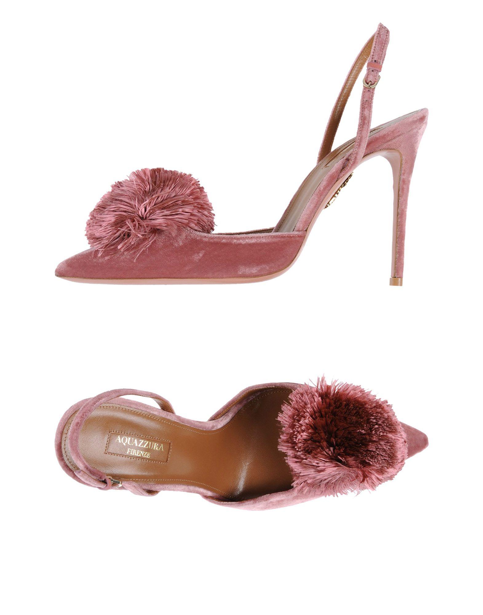 AQUAZZURA Туфли цены онлайн