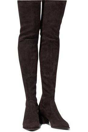 362518a3375 ... STUART WEITZMAN Thighland suede over-the-knee boots ...