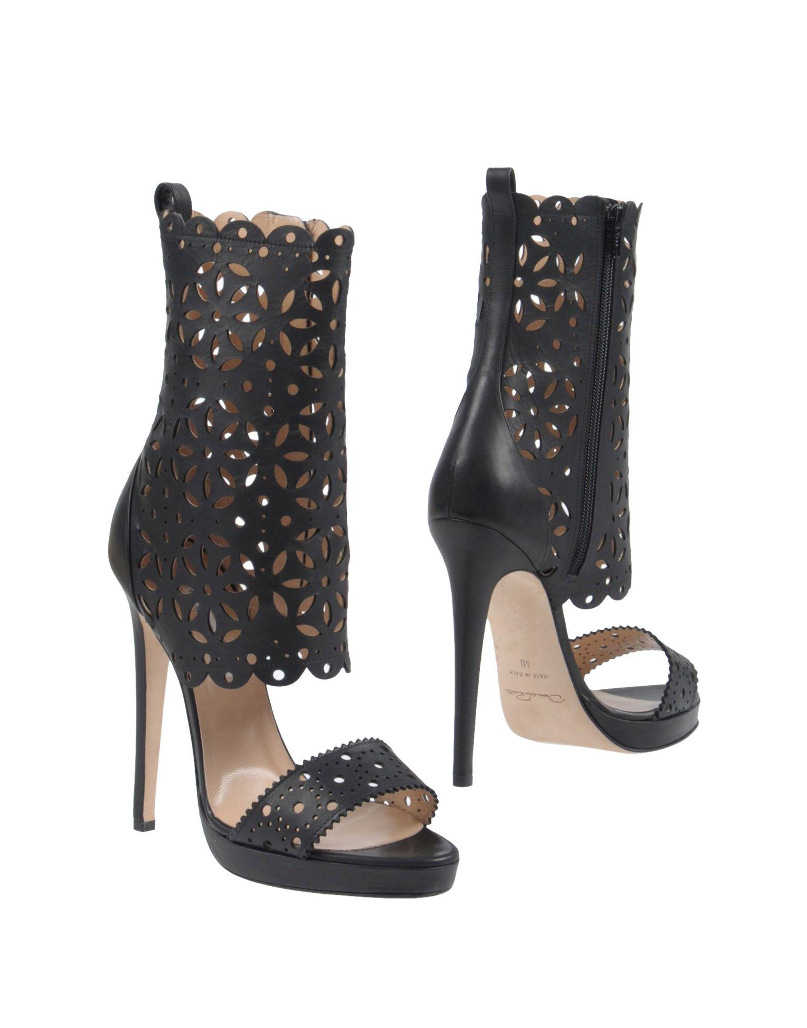 OSCAR DE LA RENTA Полусапоги и высокие ботинки