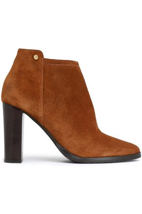 JIMMY CHOO Hart suede ankle boots