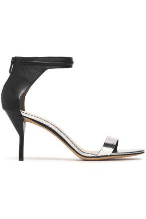 3.1 PHILLIP LIM Kiddie two-tone metallic croc-effect leather sandals