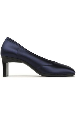 3.1 PHILLIP LIM Blade satin pumps