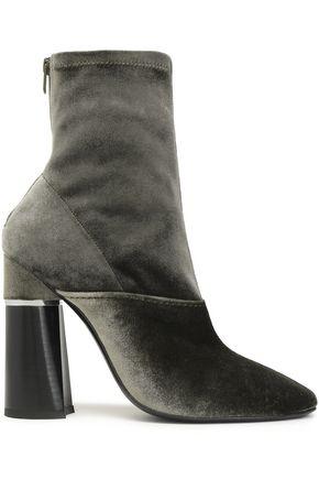 3.1 PHILLIP LIM Kyoto embellished velvet sock boots