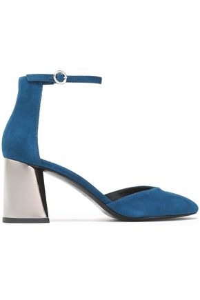 3.1 PHILLIP LIM Drum suede Mary Jane pumps