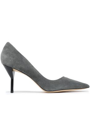 3.1 PHILLIP LIM Kiddie d'Orsay suede pumps
