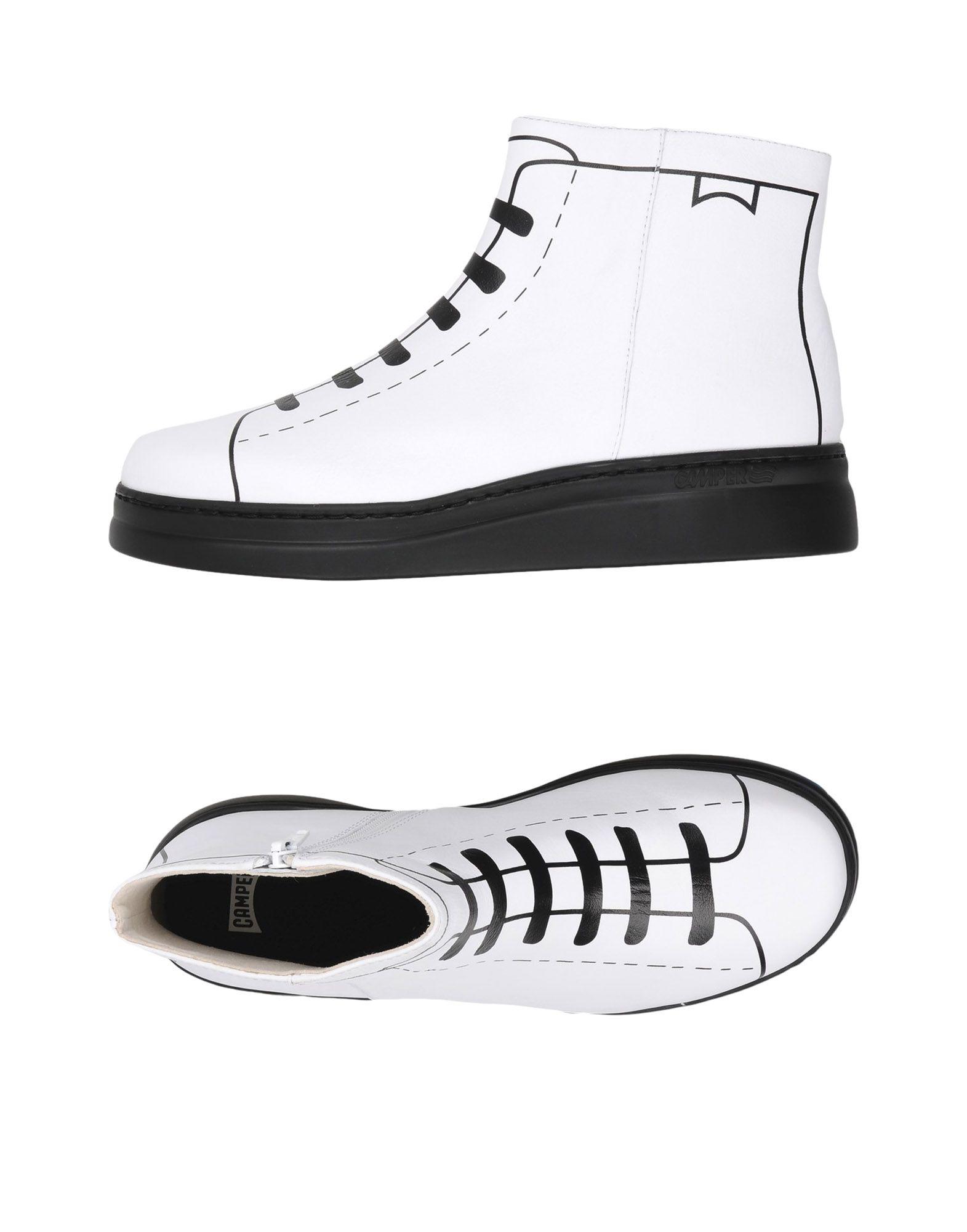 CAMPER Высокие кеды и кроссовки
