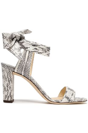 JIMMY CHOO Kora elaphe sandals