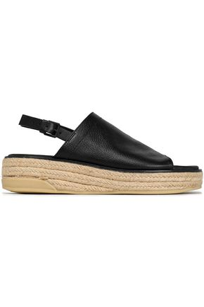 DKNY Leather espadrille sandals