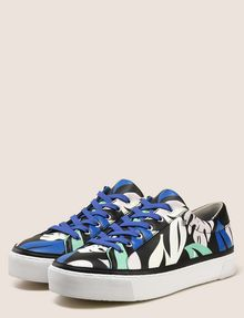 ARMANI EXCHANGE MONSTERA PLATFORM LOWTOP SNEAKER Sneakers Woman r