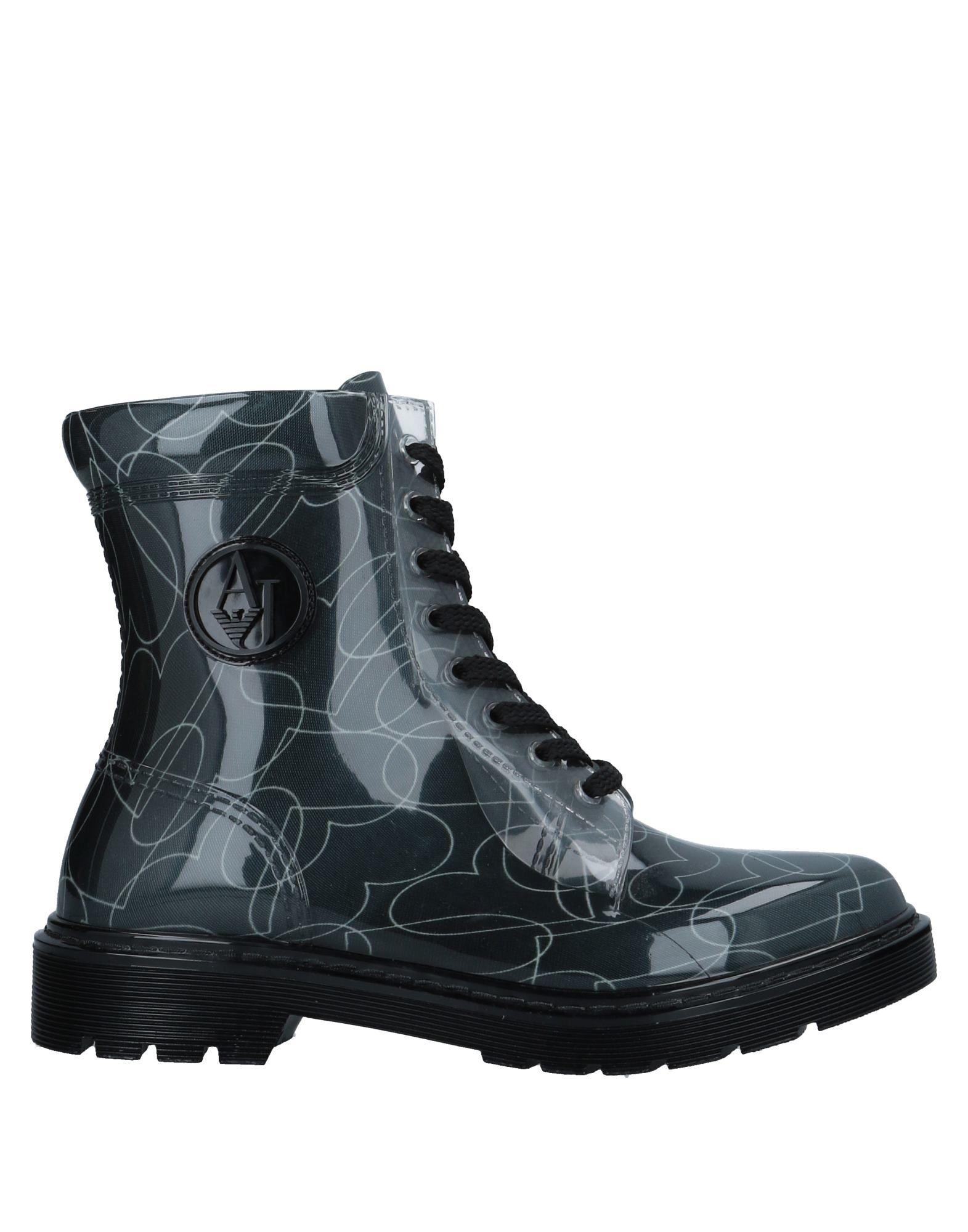 ARMANI JEANS Полусапоги и высокие ботинки ботинки swims ботинки без каблука