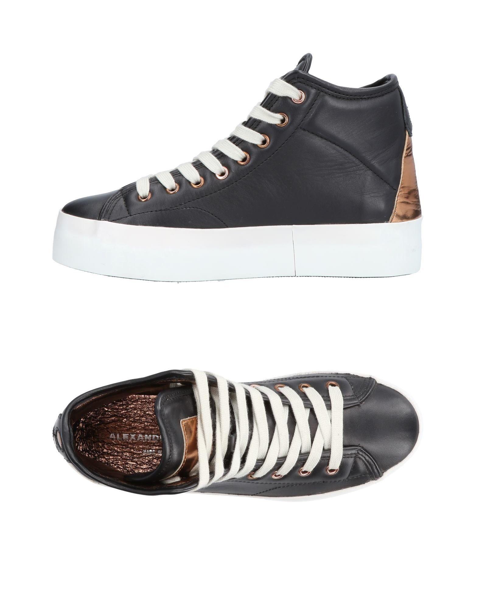 ALEXANDER SMITH Высокие кеды и кроссовки кеды кроссовки высокие dc evan smith hi black