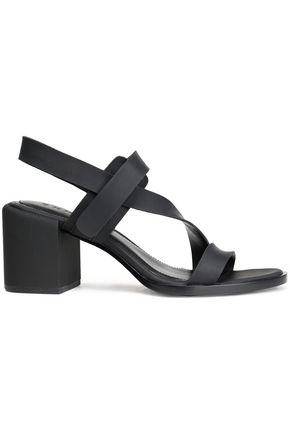 DKNY Leather slingback sandals
