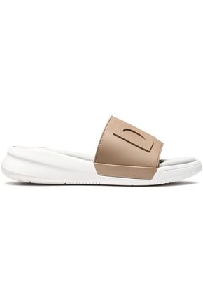 DKNY Embossed rubber sandals