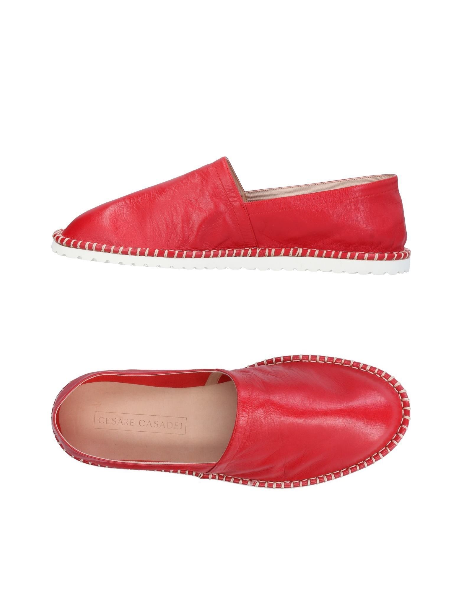 CESARE CASADEI Espadrilles in Red
