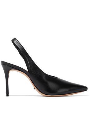 SCHUTZ Phisalis leather slingback pumps