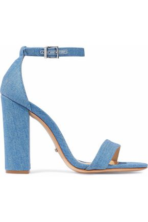 SCHUTZ Enida denim sandals
