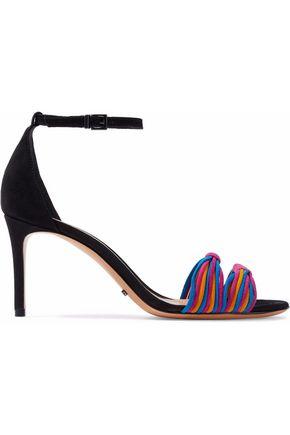 SCHUTZ Joolian knotted suede sandals