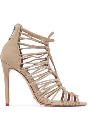 SCHUTZ Naama cutout nubuck sandals