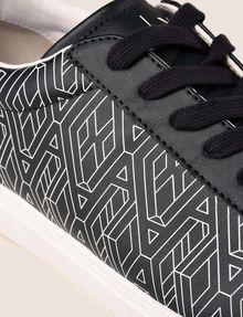 ARMANI EXCHANGE ロゴグラフィック スニーカー スニーカー メンズ a