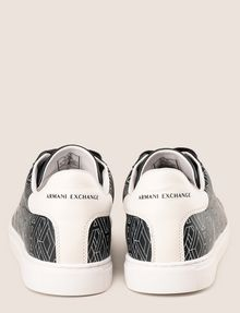 ARMANI EXCHANGE ロゴグラフィック スニーカー スニーカー メンズ d