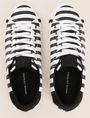 ARMANI EXCHANGE STRIPED CANVAS LOW-TOP SNEAKER Sneakers Woman e