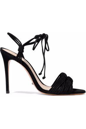 SCHUTZ Tammi knotted nubuck sandals