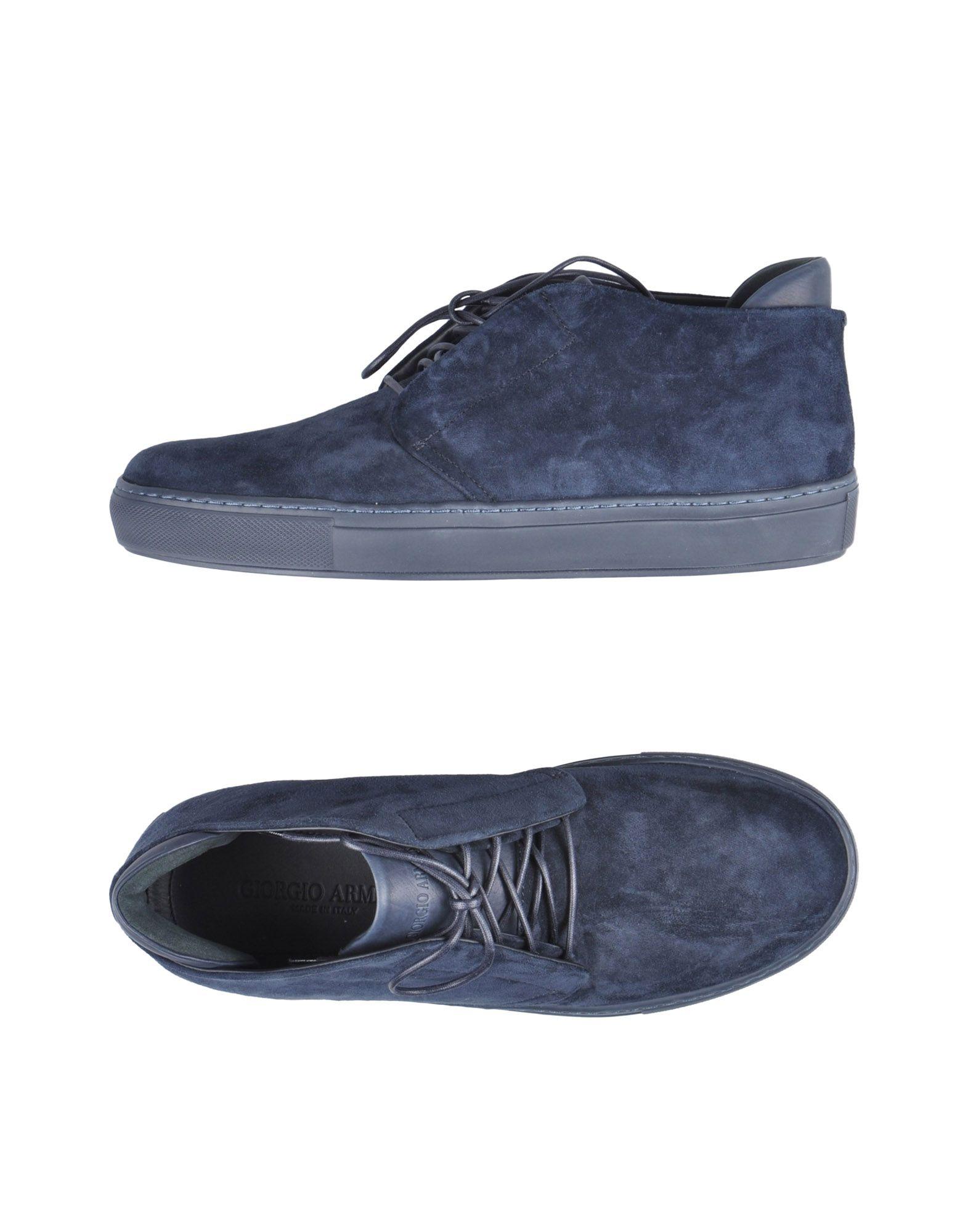 GIORGIO ARMANI Обувь на шнурках цены онлайн