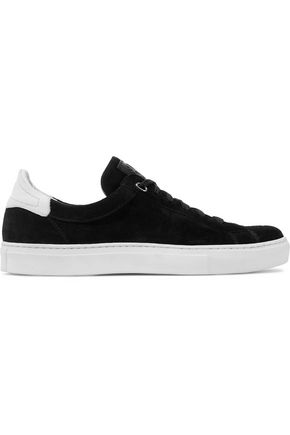 BELSTAFF Dagenham suede and leather sneakers