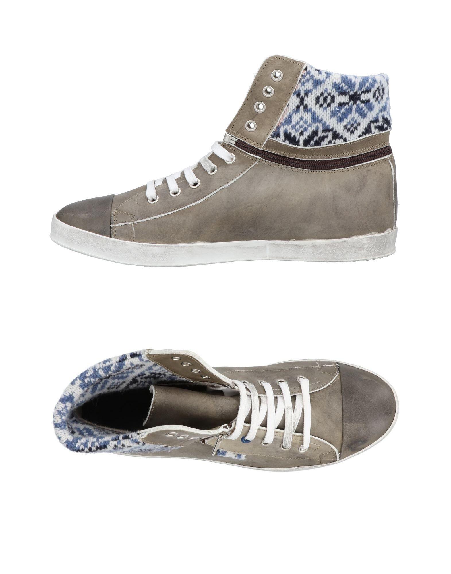 LE CROWN Высокие кеды и кроссовки кеды кроссовки высокие женские dc evan hi le cream