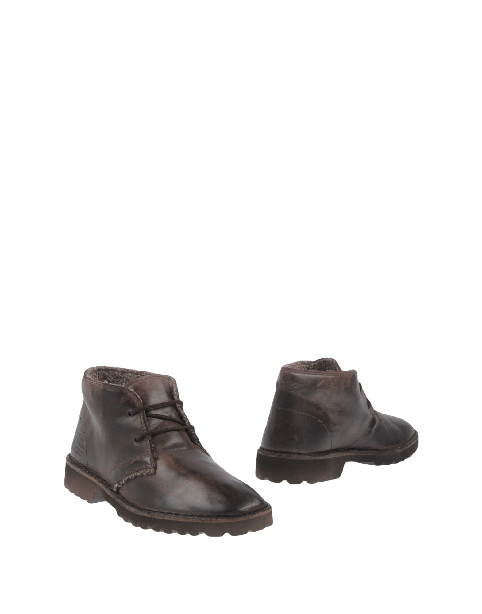 LE CROWN Boots in Dark Brown