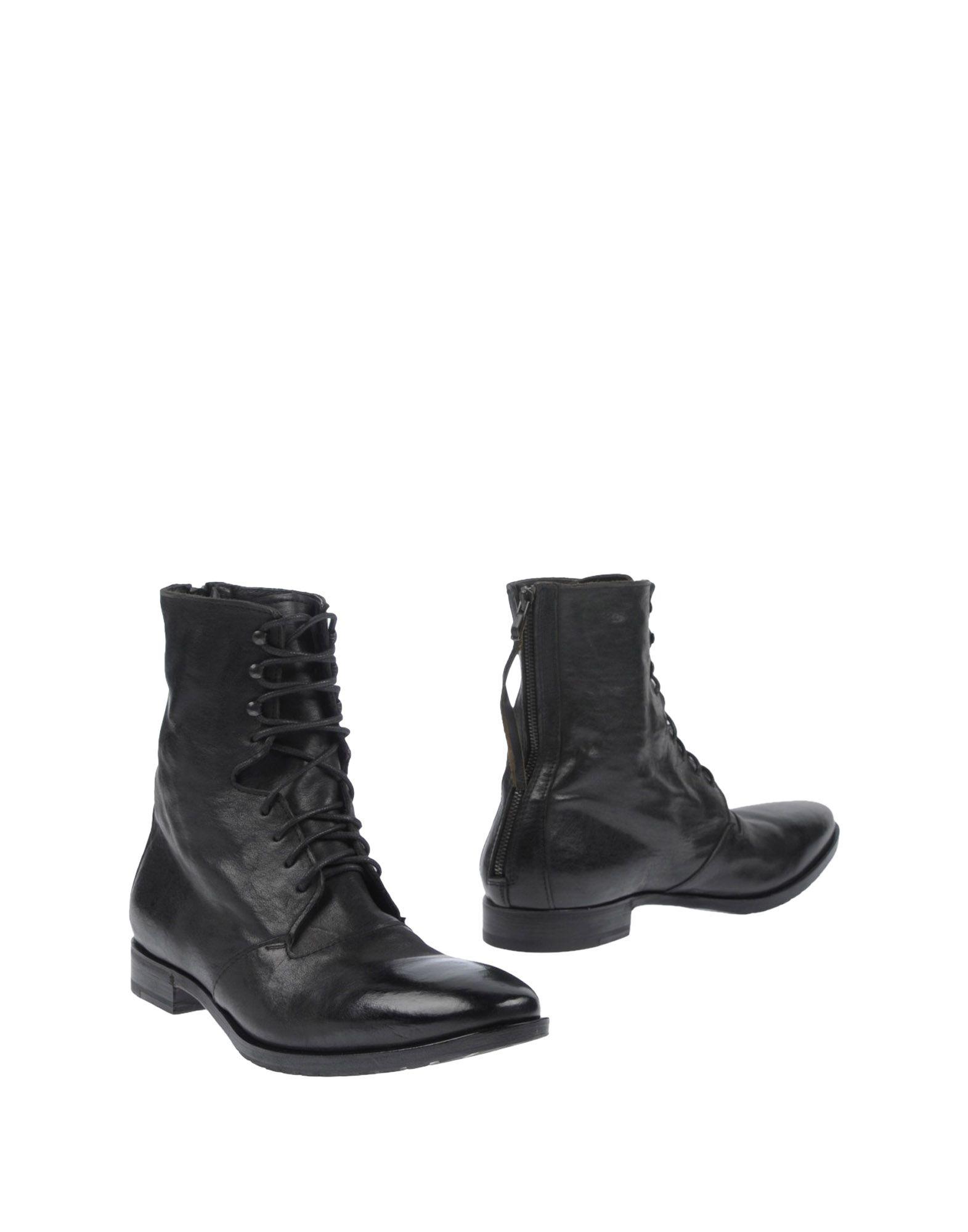 《送料無料》HENDERSON メンズ ショートブーツ ブラック 45 革
