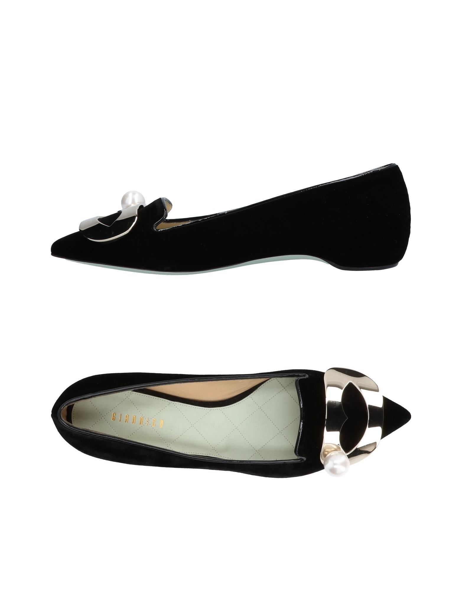 GIANNICO Loafers in Black