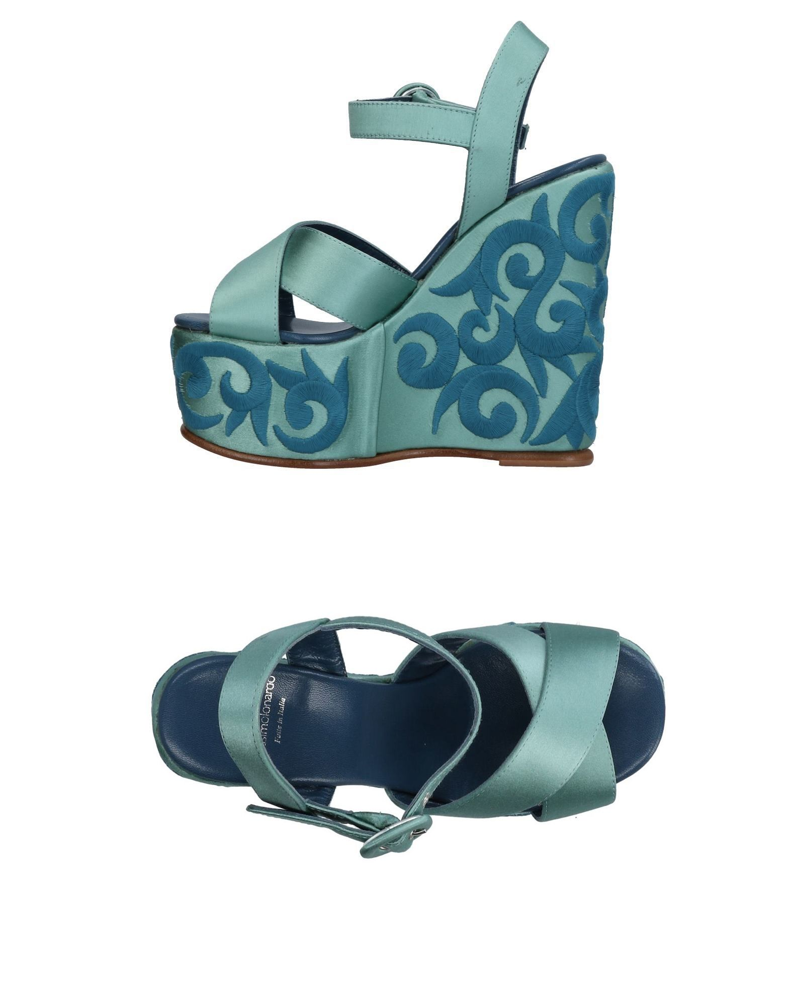 MASSIMO LONARDO Sandals in Sky Blue