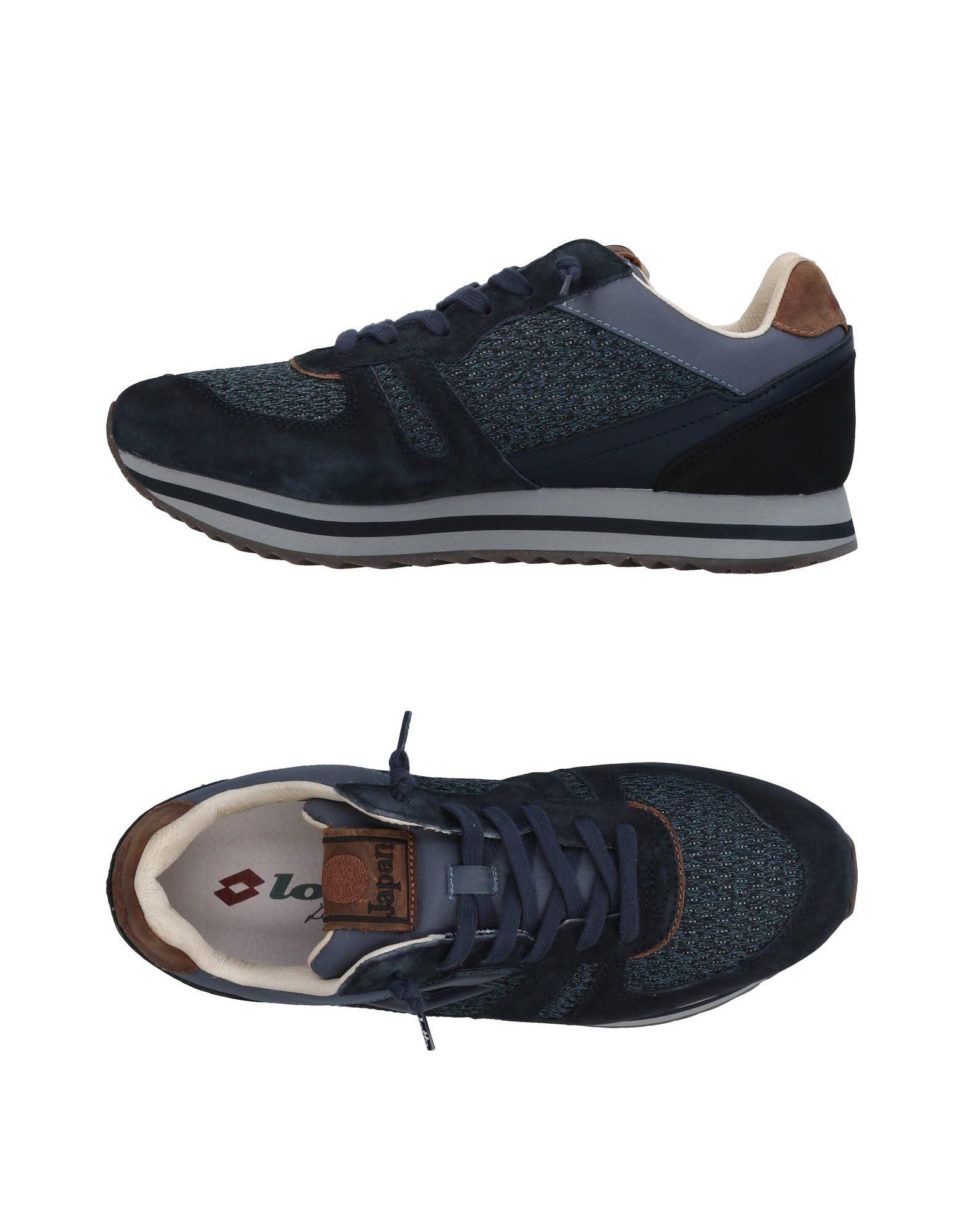 《送料無料》LOTTO LEGGENDA メンズ スニーカー&テニスシューズ(ローカット) ダークブルー 40 革 / 紡績繊維