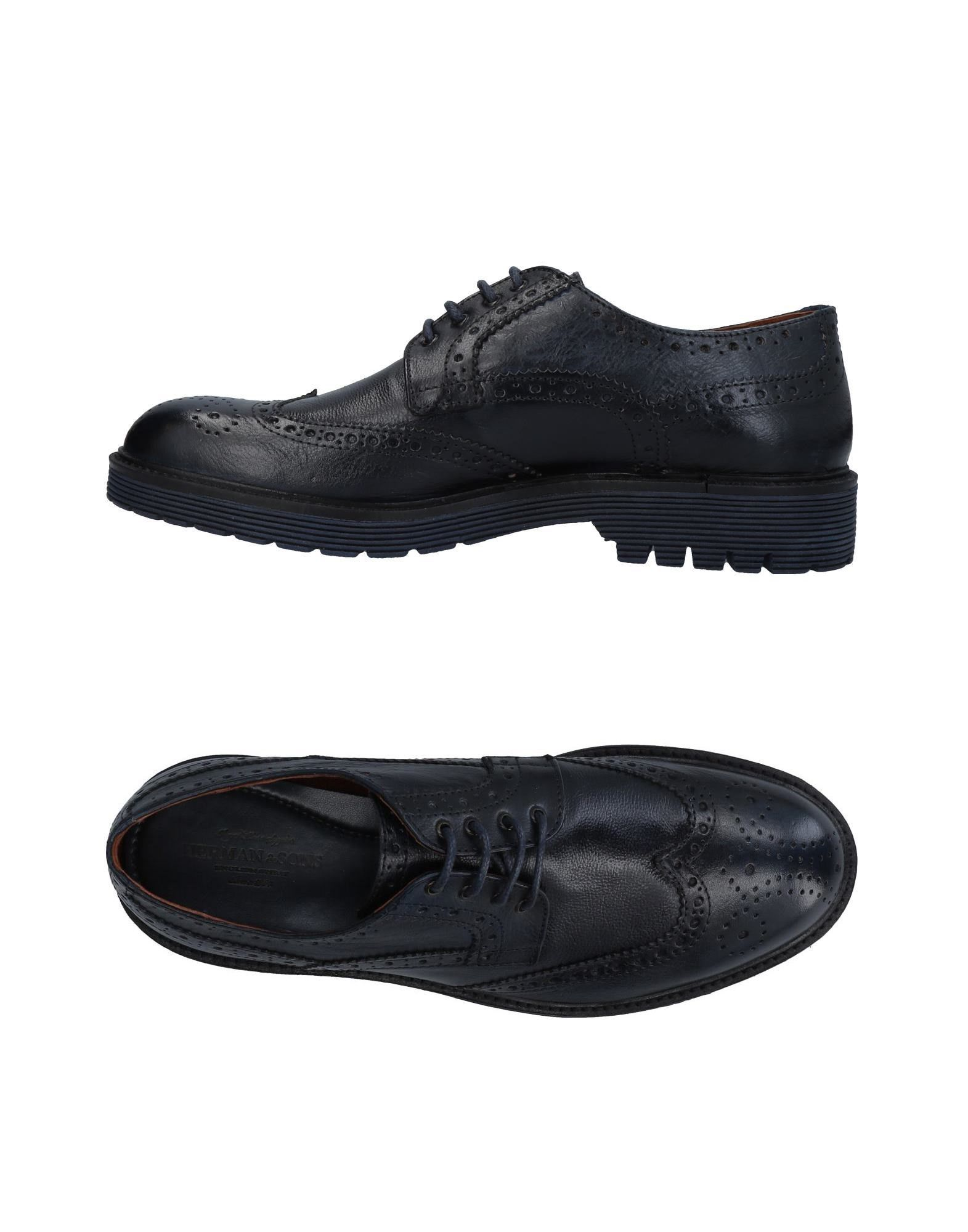 HERMAN & SONS Обувь на шнурках шляпа herman herman mp002xu00yhk