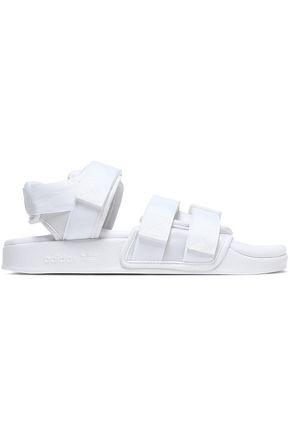 ADIDAS ORIGINALS | Adidas Originals Canvas And Woven Sandals | Goxip