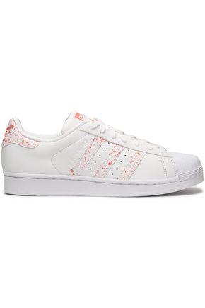 ADIDAS ORIGINALS Printed leather sneakers