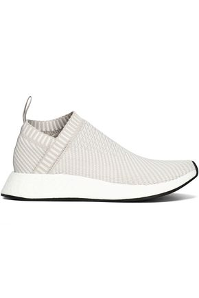 ADIDAS ORIGINALS Stretch-knit slip-on sneakers