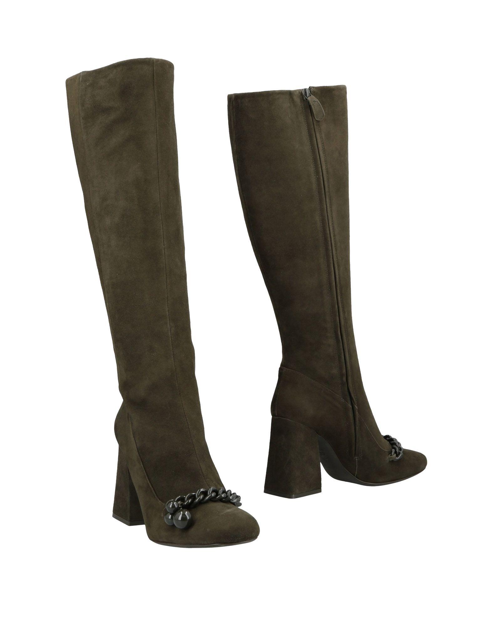 7f203479a79f Tory Burch Boots In Dark Green