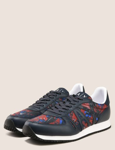 TROPICAL FLORAL RETRO LOWTOP SNEAKER