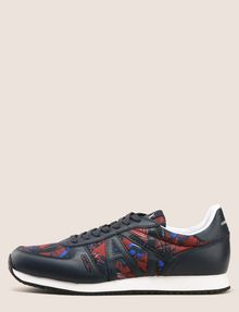 ARMANI EXCHANGE TROPICAL FLORAL RETRO LOWTOP SNEAKER Sneakers Man f