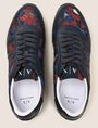 ARMANI EXCHANGE TROPICAL FLORAL RETRO LOWTOP SNEAKER Sneakers [*** pickupInStoreShippingNotGuaranteed_info ***] e