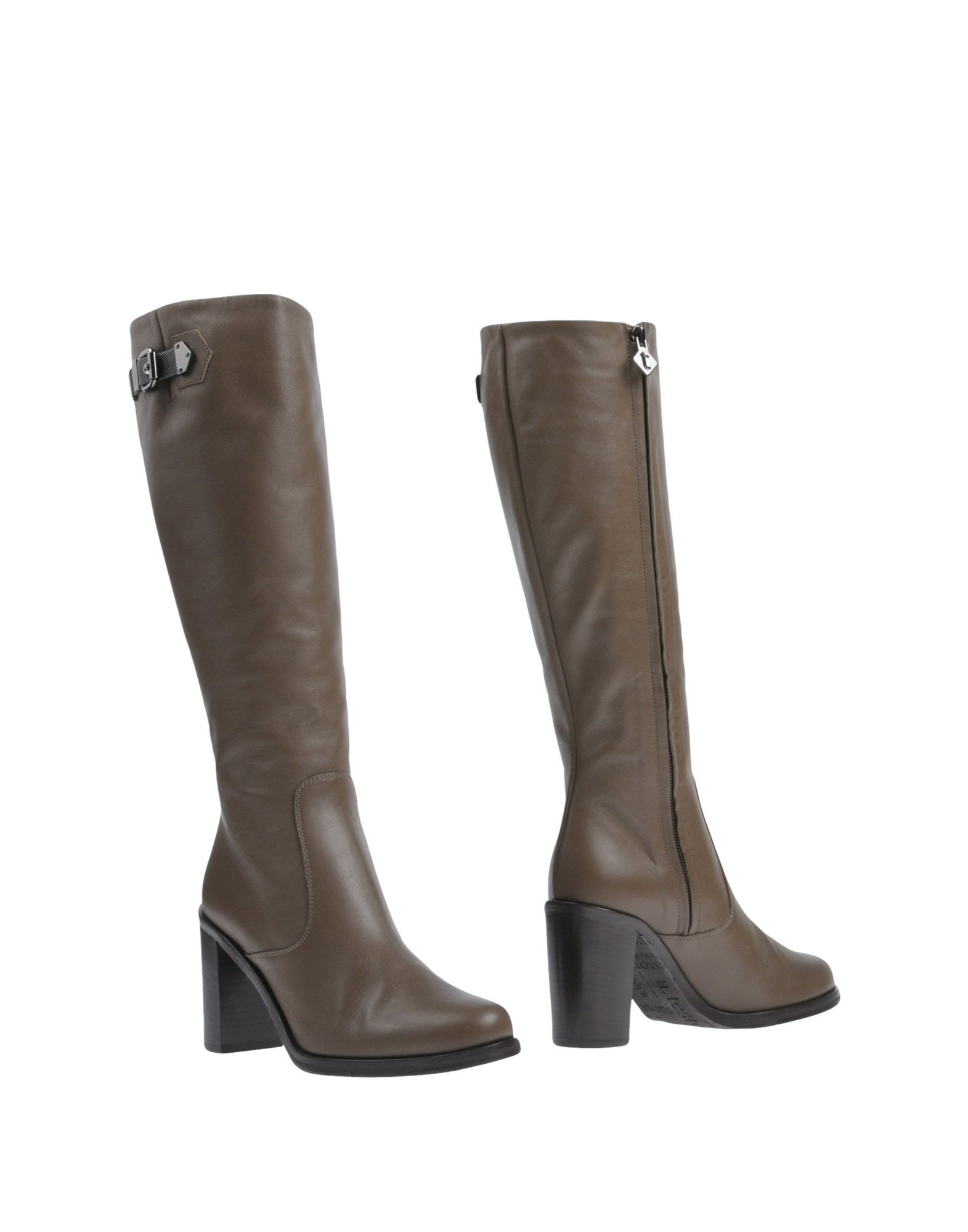 A. TESTONI Boots in Khaki