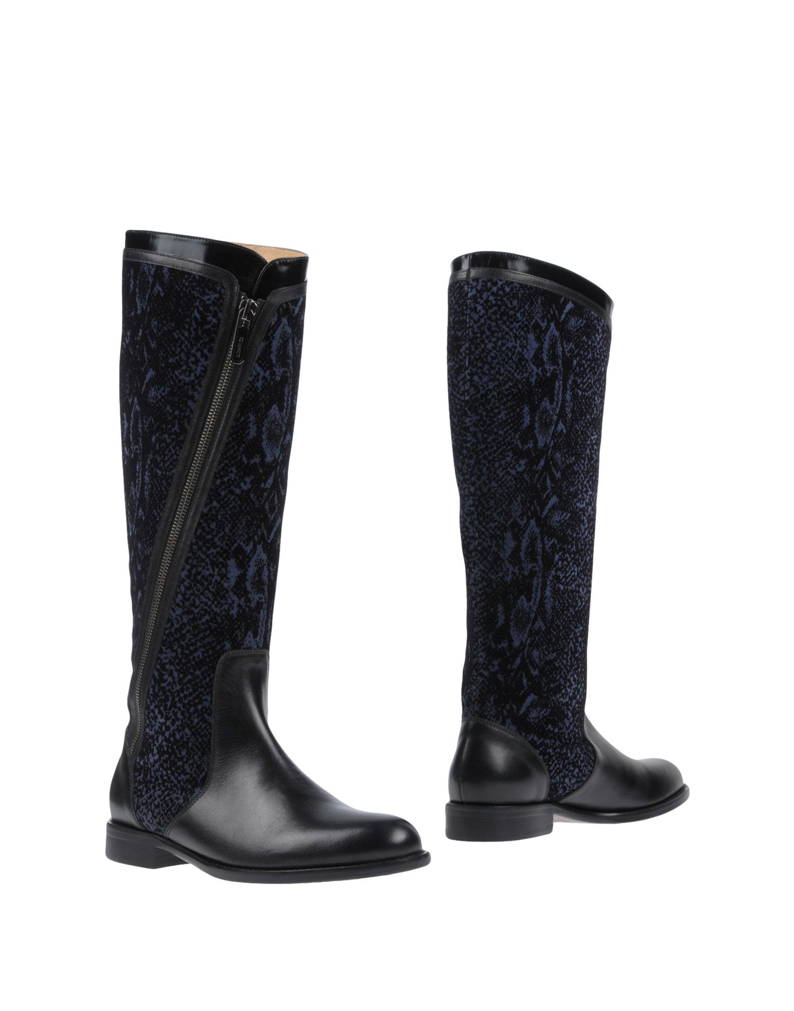 A.TESTONI Boots in Dark Blue