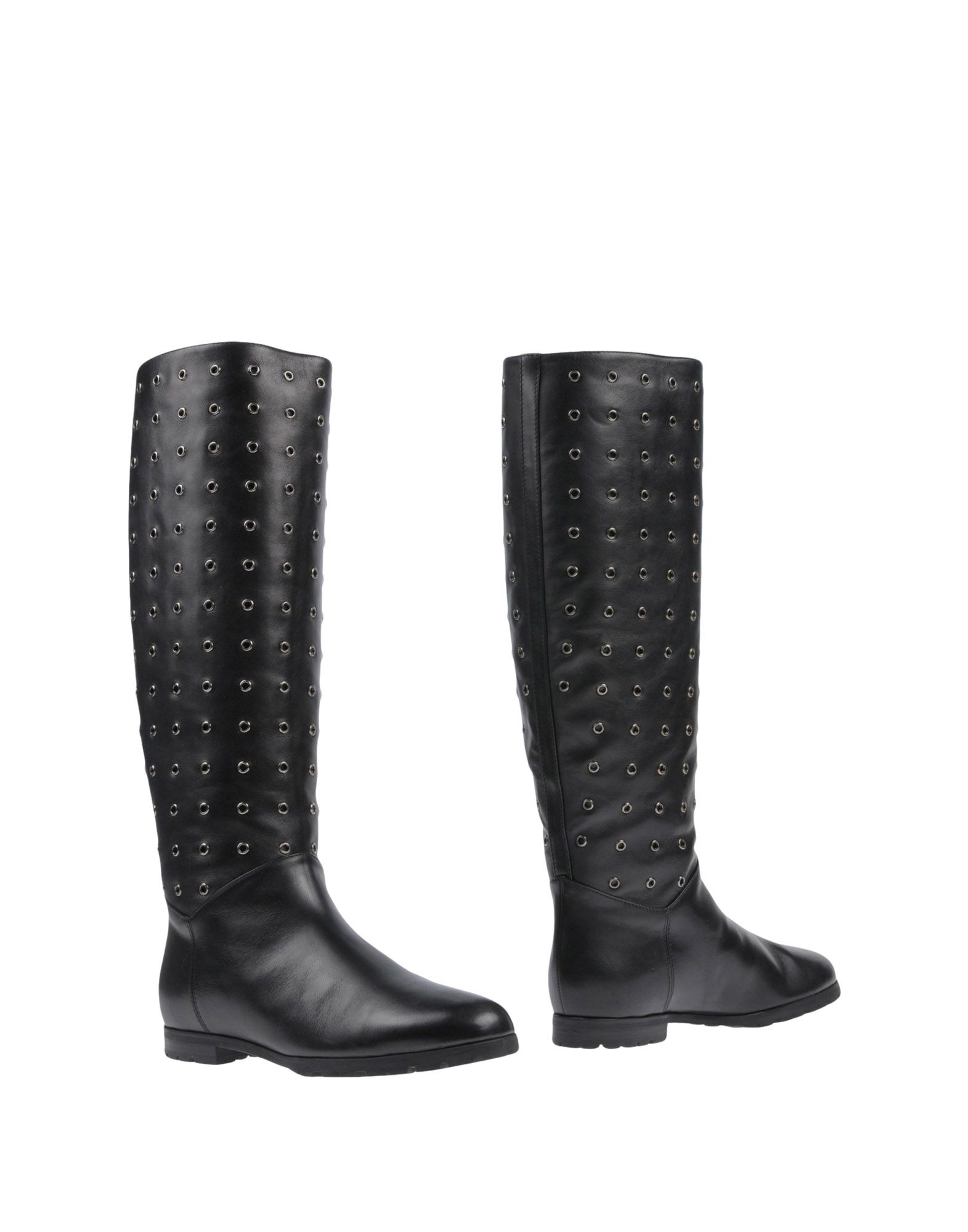 A.TESTONI Boots in Black