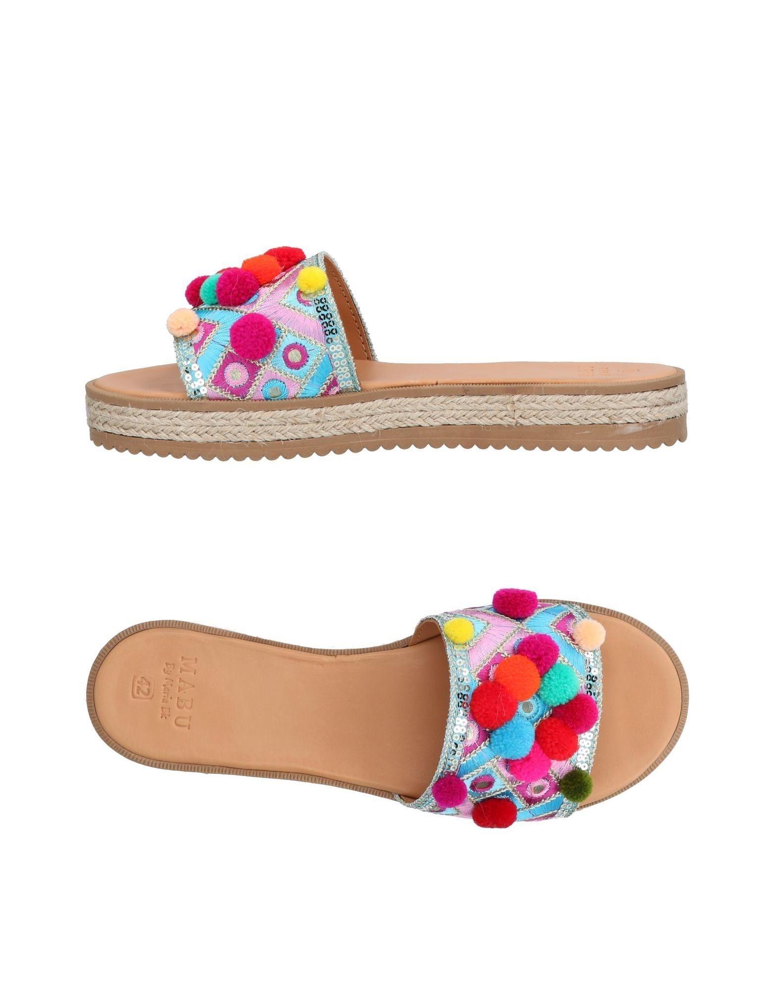 MABU BY MARIA BK Sandals in Azure