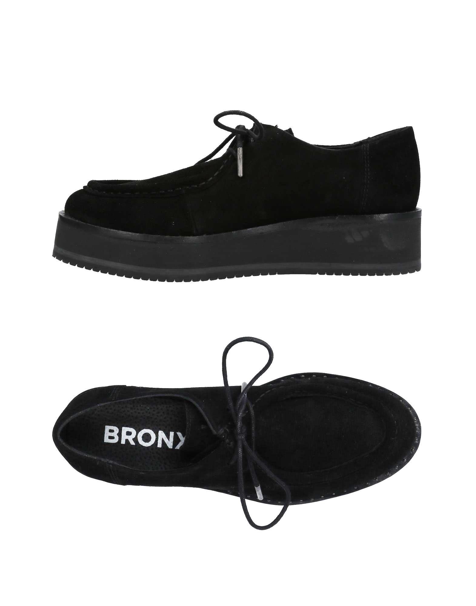 BRONX Обувь на шнурках обувь на высокой платформе its own brand 116 31 32 33