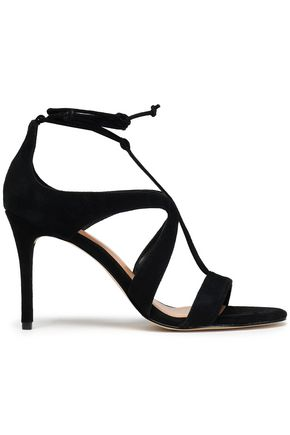 HALSTON HERITAGE Cutout leather sandals